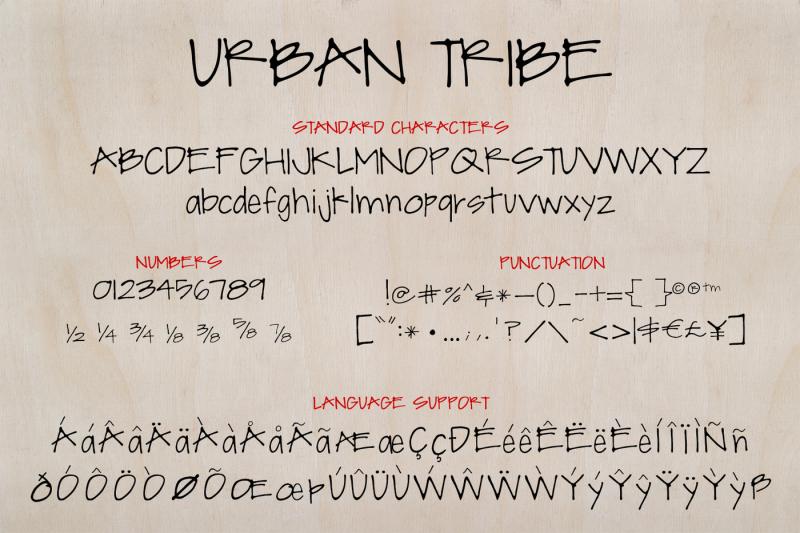 urban-tribe-font