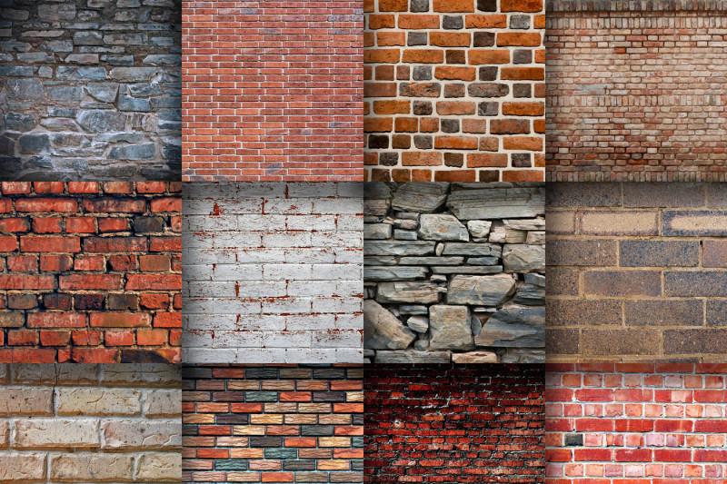 brick-wall-textures-digital-paper