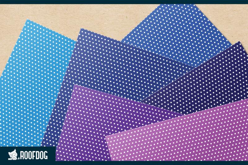 rainbow-polka-dot-digital-paper