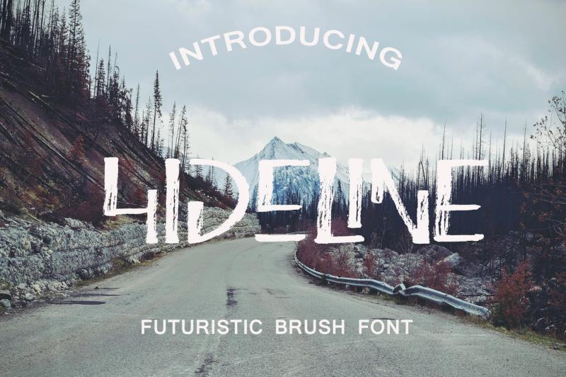 hideline-font