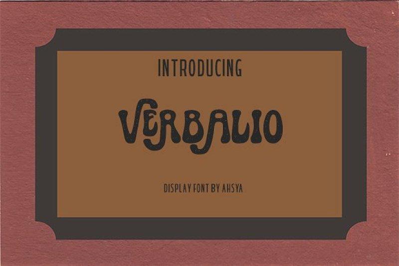 verbalio-font