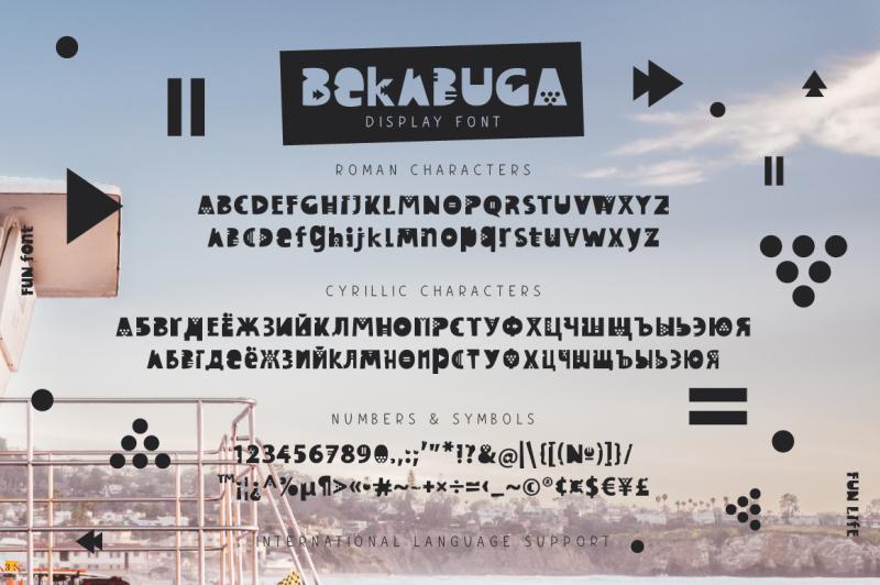 bekabuga-display-font