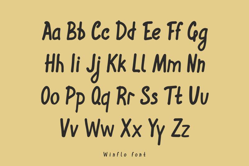winflo-handwritten-font