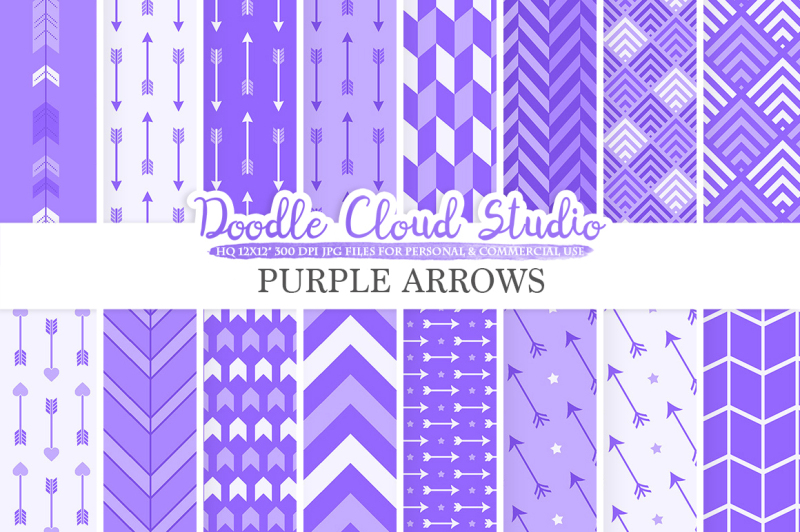 purple-arrows-digital-paper-violet-arrow-patterns-tribal-archery-chevron-triangles-background-instant-download-personal-and-commercial-use