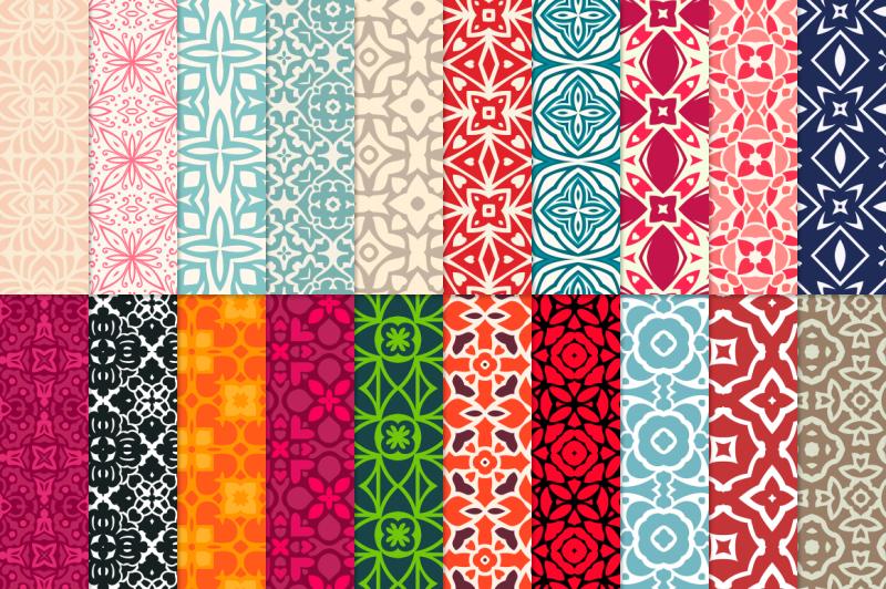 100-decorative-seamless-patterns