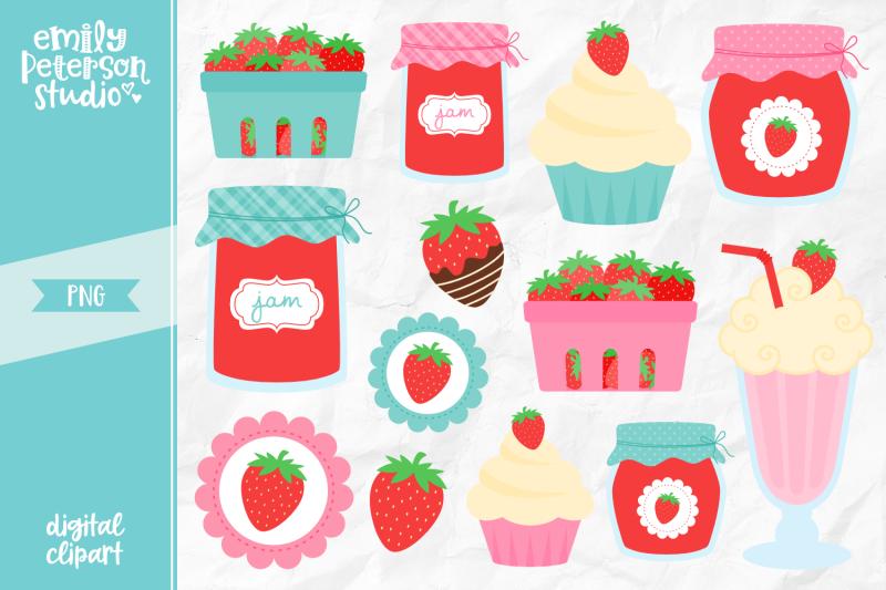 strawberry-treats-clipart