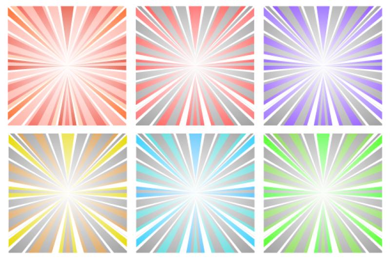 vector-set-abstract-illustration-sunset