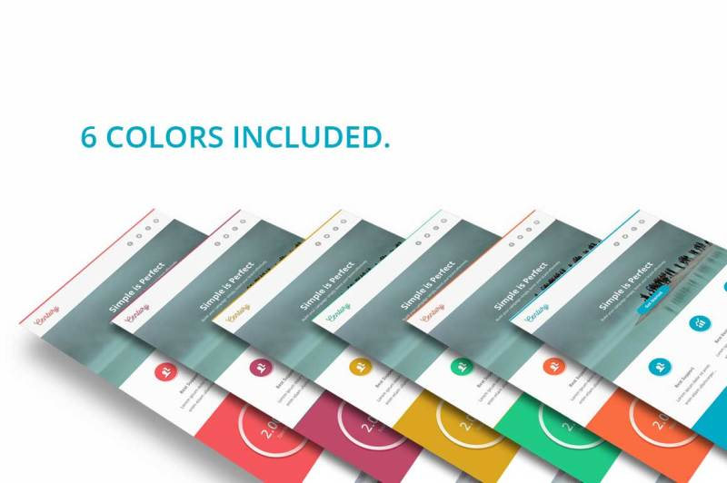 century-6-colors-email-template
