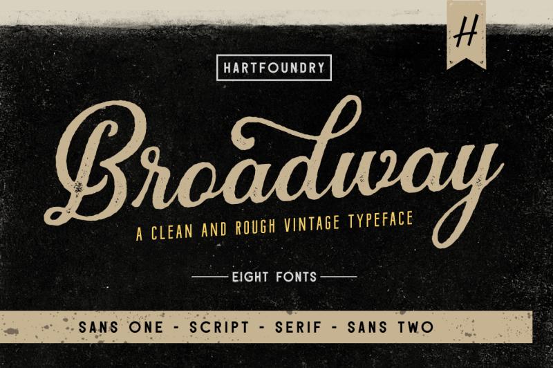broadway-font-pack