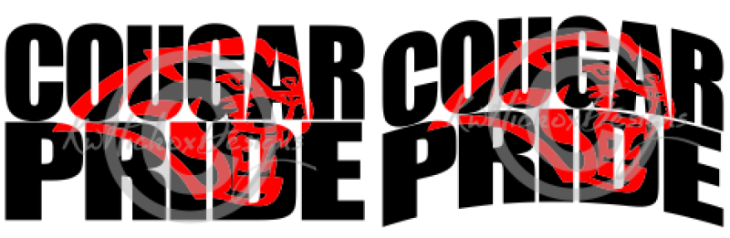 cougar-pride-knockout-font-svg-eps-dxf-file