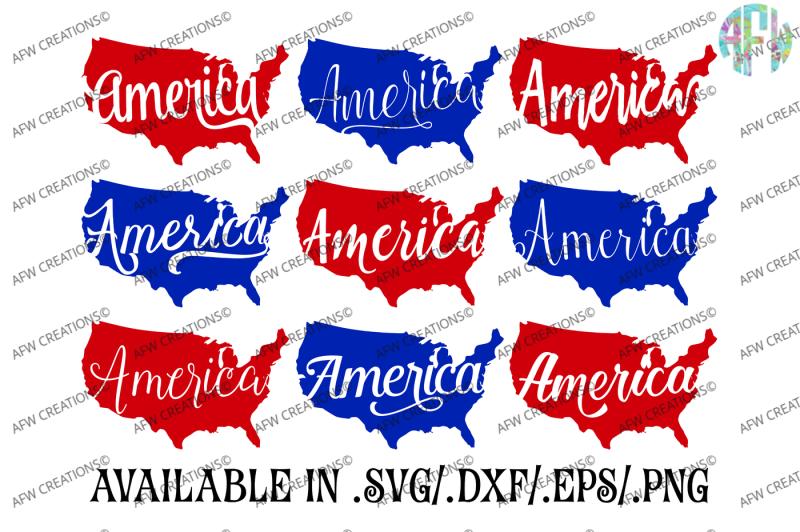 america-usa-svg-dxf-eps-digital-cut-files
