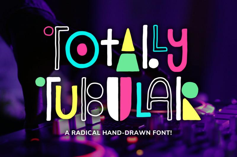 totally-tubular-font