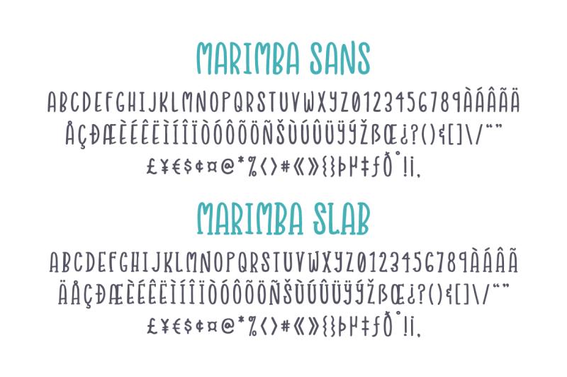 marimba-font-duo
