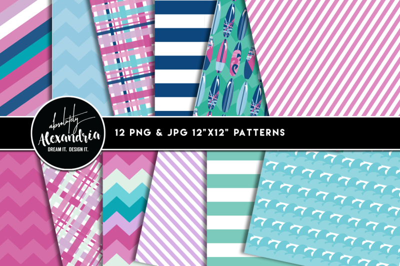 surfer-girl-graphics-and-patterns-bundle