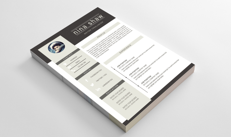 2-pages-resume-template
