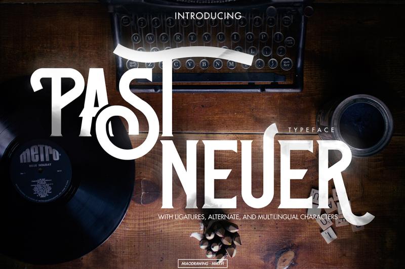 past-neuer-typeface