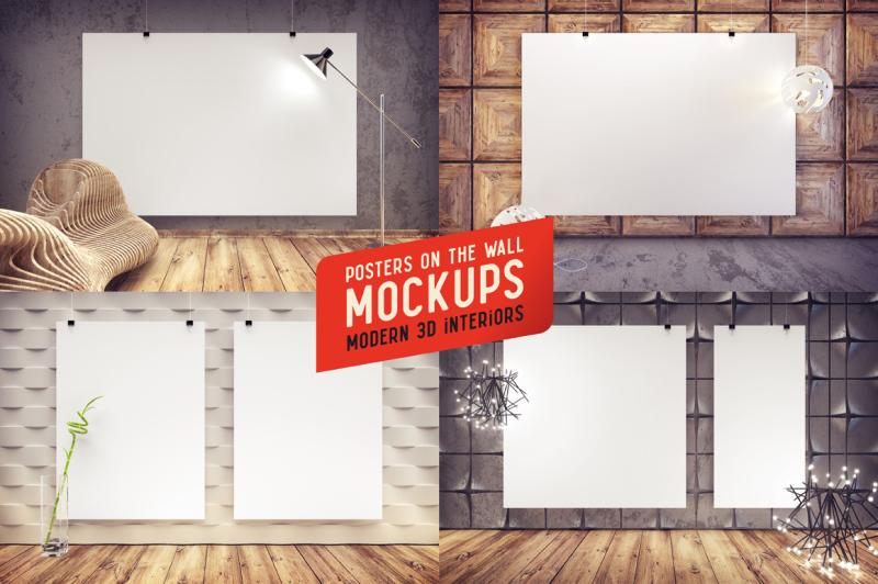 4-mockups-modern-interiors