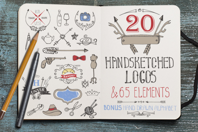 hand-drawing-logo-bundle-2-vintage