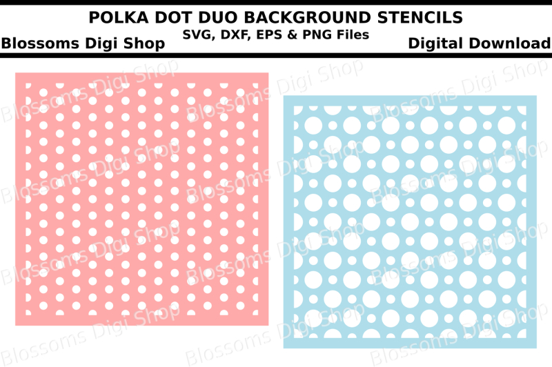 polka-dot-duo-background-stencils-svg-dxf-eps-and-png-files