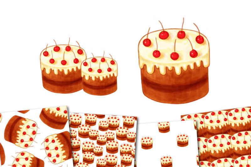 bright-chocolate-cake-with-cherries