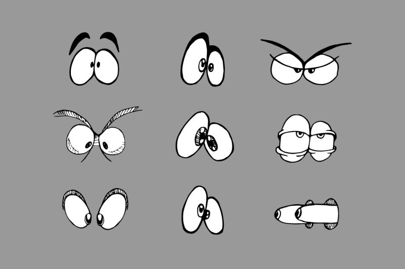 vector-cartoon-eyes