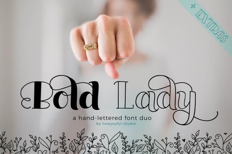 bold-lady-font-duo