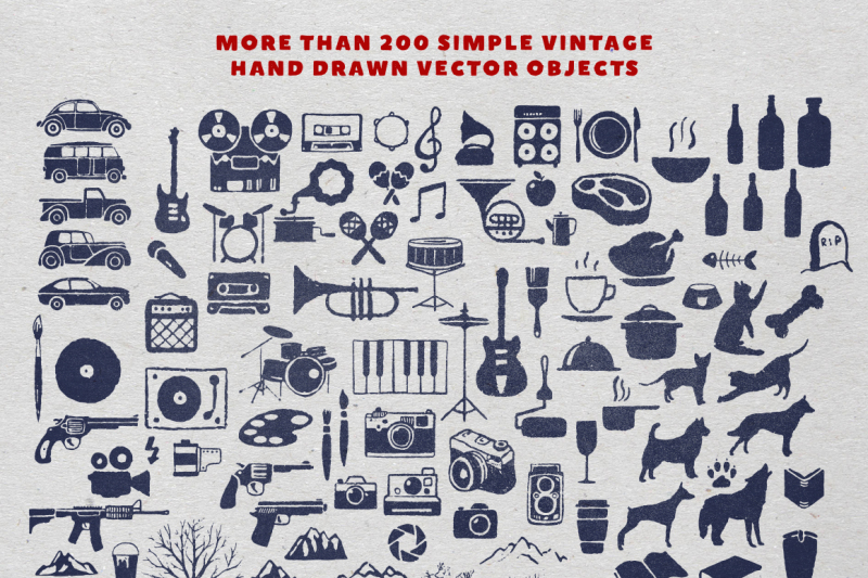 vintage-logo-objects
