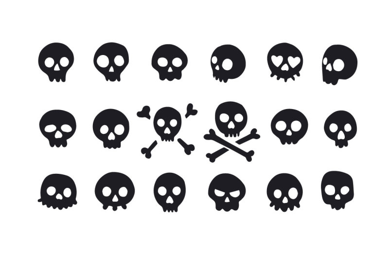 vector-skulls-patterns