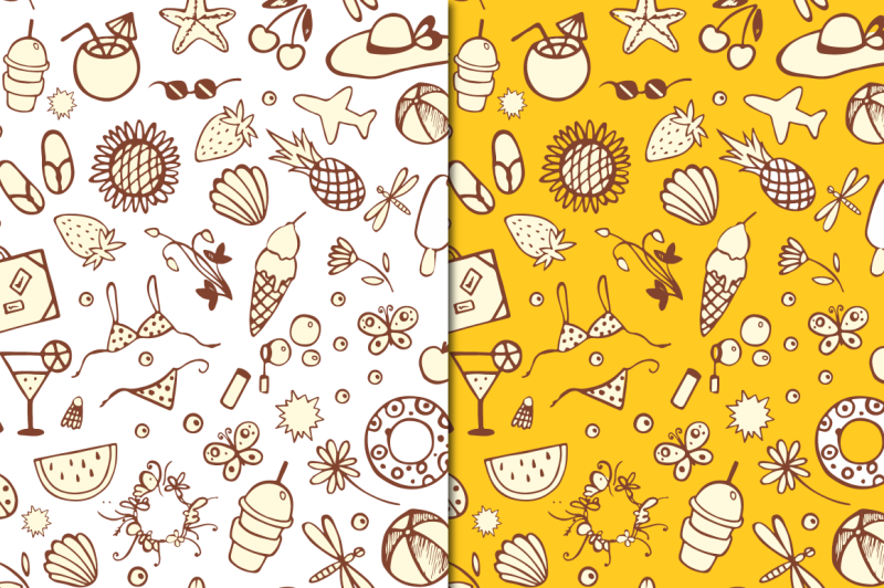 summer-time-icons-pattern