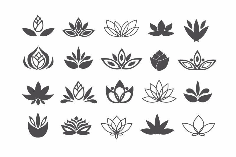 vector-flower-icons