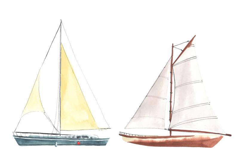 watercolor-sailboats