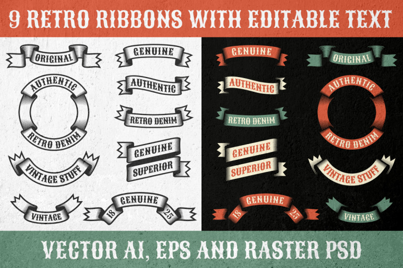 authentic-retro-ribbons