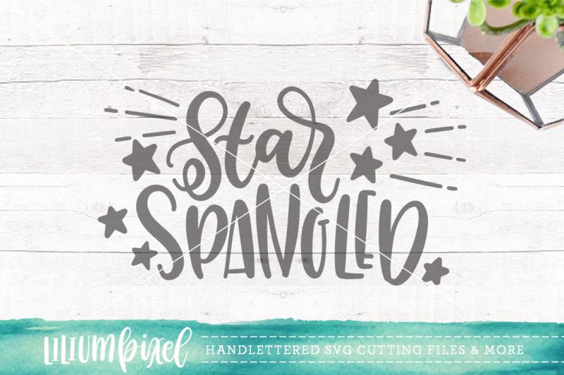 star-spangled-svg-png-dxf