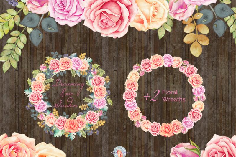 dreaming-rose-garden-watercolor-clipart