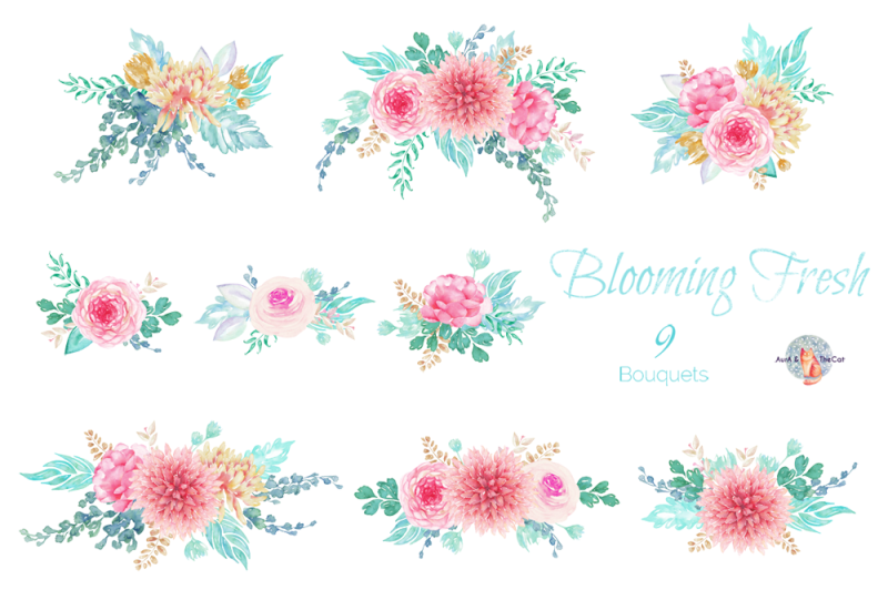 blooming-fresh-watercolor-clipart