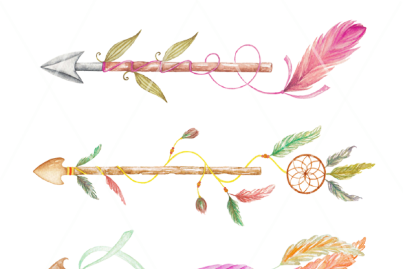 arrows-watercolor-clipart