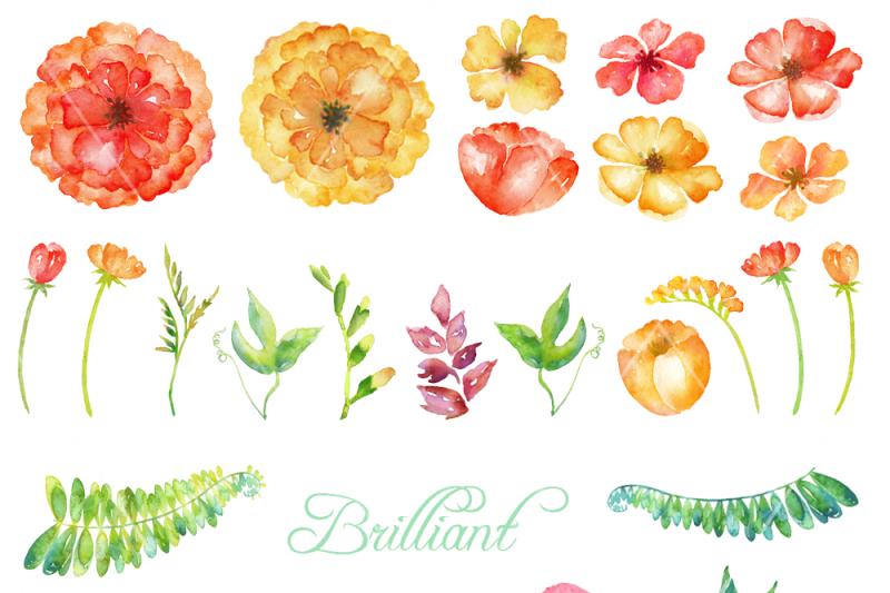 brilliant-watercolor-clipart