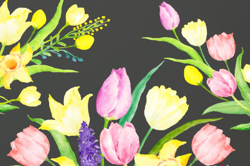 spring-garden-flower-arrangements