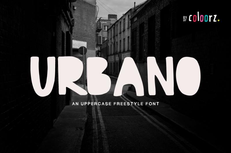 urbano-freestyle-font