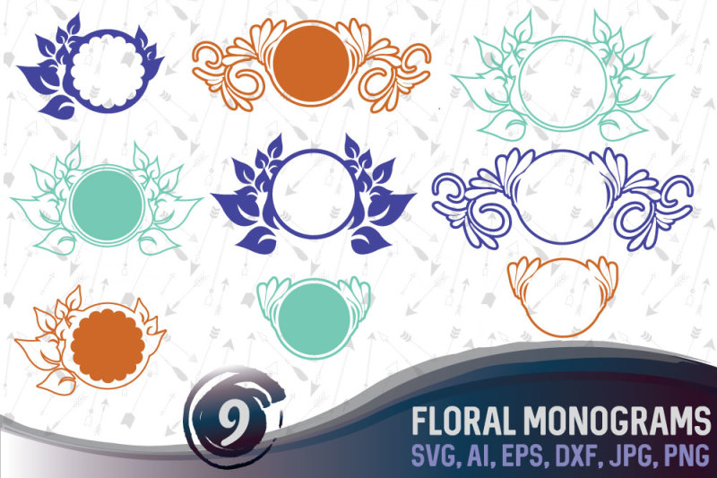 9-floral-monograms-bundle-svg-ai-eps-png-dxf-jpg
