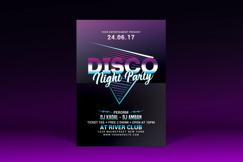 disco-night-party-flyer