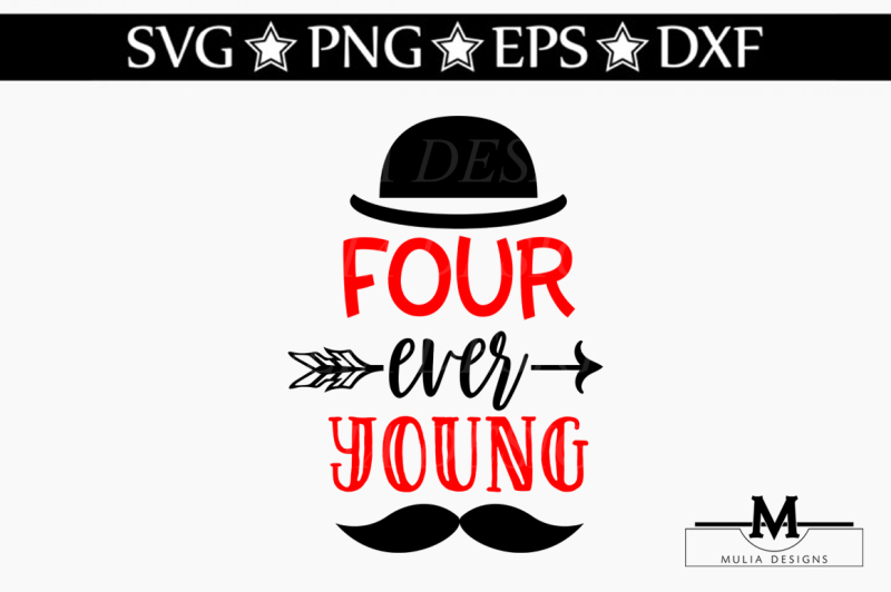 four-ever-young-svg