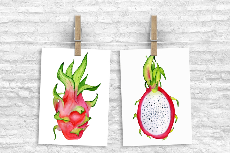 watercolor-tropical-fruits-clipart