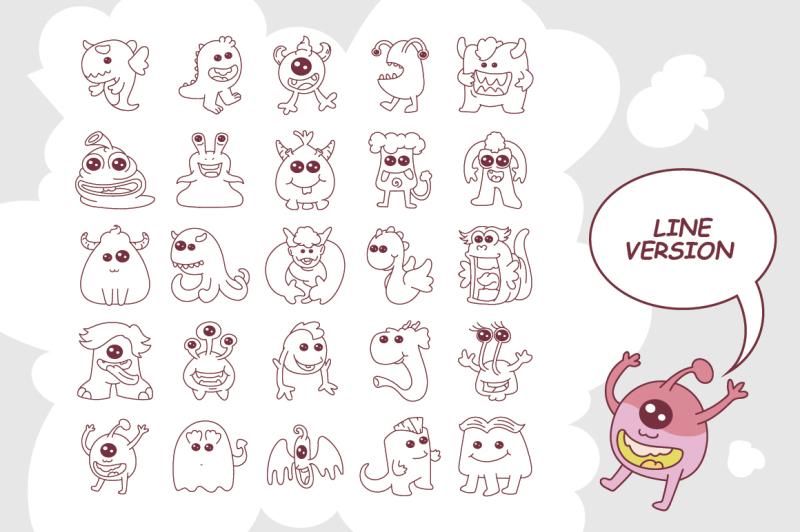 cute-monsters