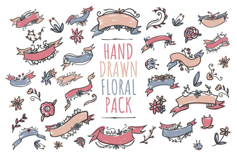 handdrawn-floral-pack