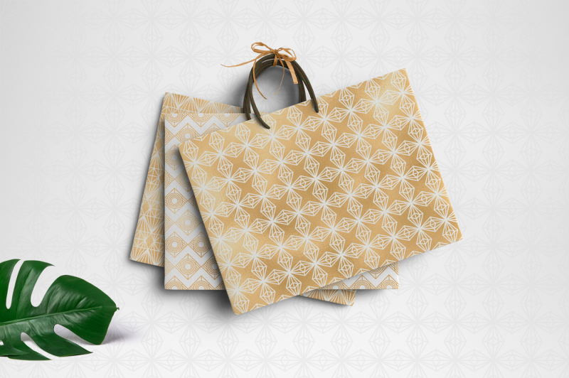 geometric-luxurygold-pattern