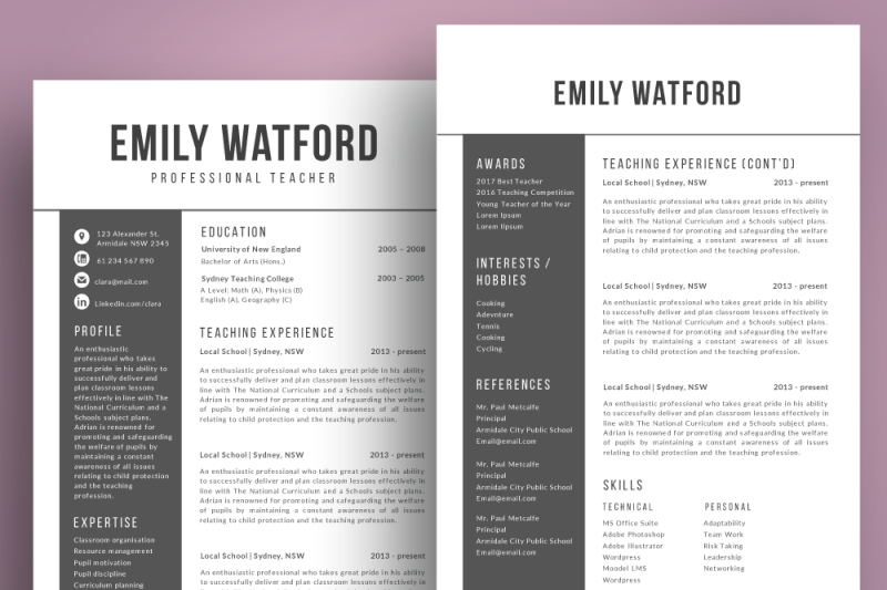 2-in-1-resume-template-pptx