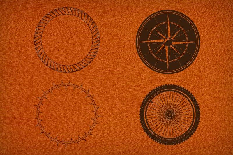 40-circular-shapes-vector-vol-5