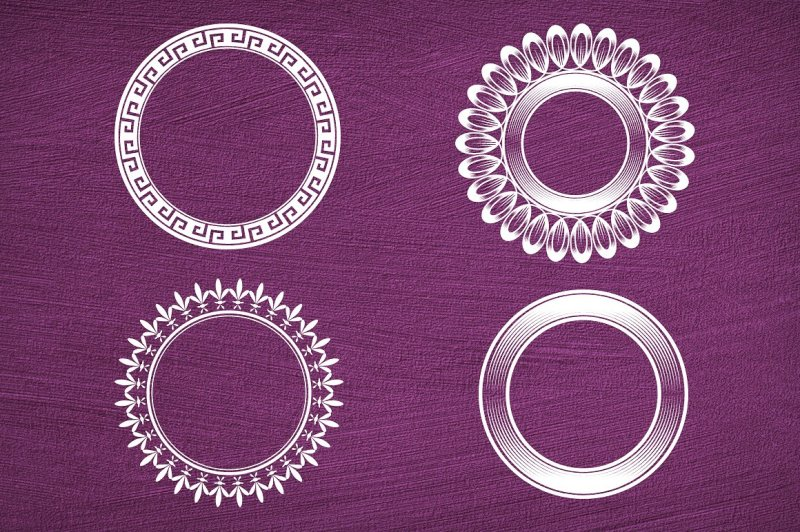 40-circular-shapes-vector-vol-6