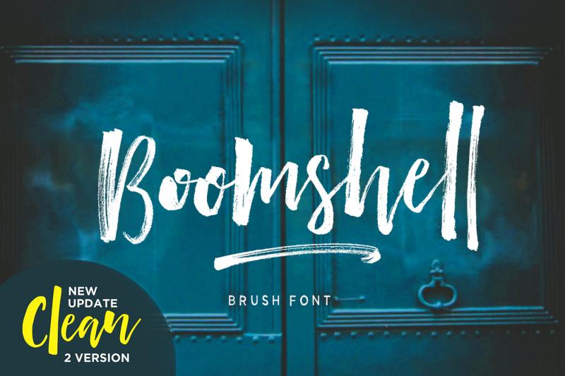 boomshell-brush-font